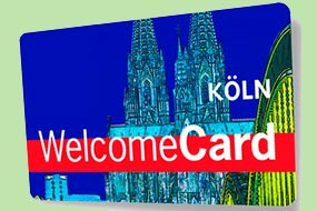 Туристическая карта Koln WelcomeCard