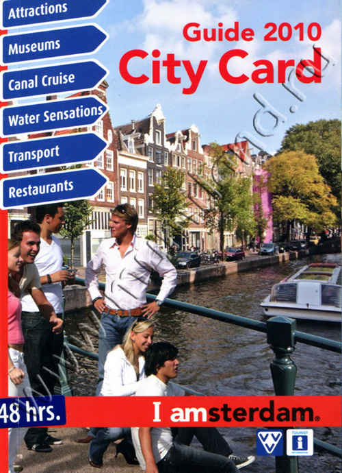 Буклет I amsterdam City Card