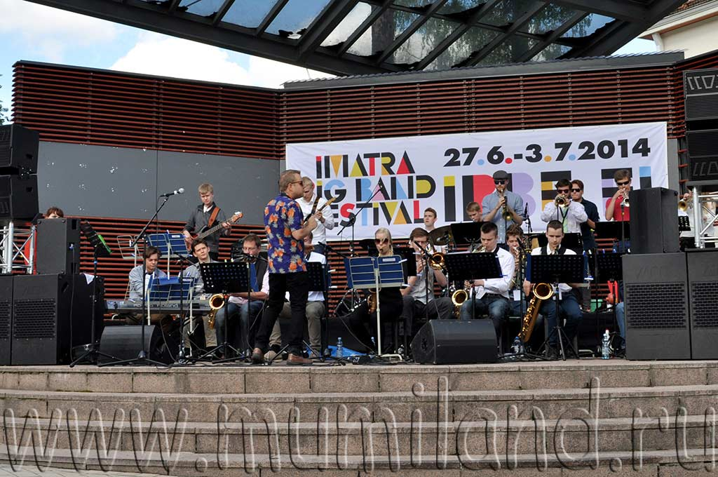 На джазовом фестивале Imatra Big Band Festival в Иматре